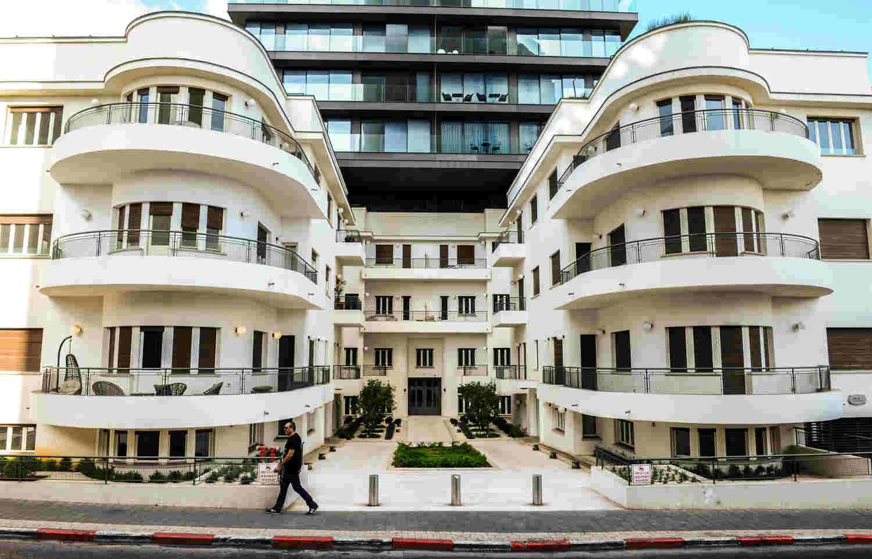 Photo de la maison Reisfeld à Tel-Aviv