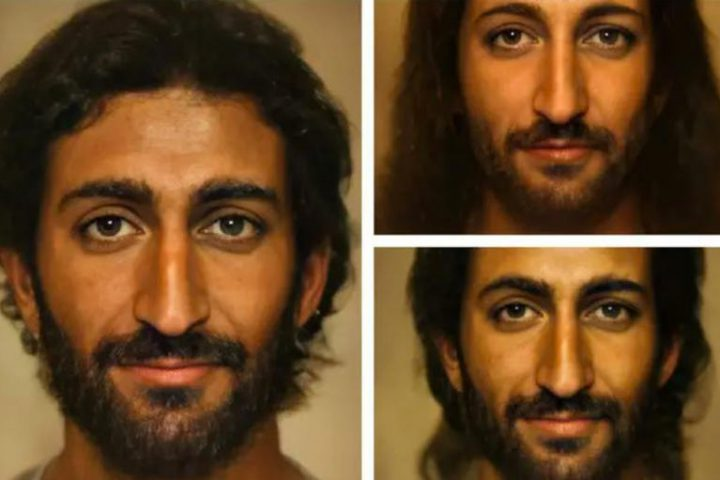 Jesus version intelligence artificielle Jewpop