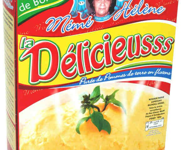 Photo représentant un paquet de puée Mémé Hélène Jewpop