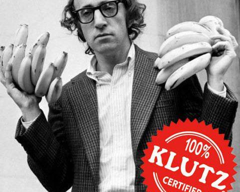 Woody Allen klutz