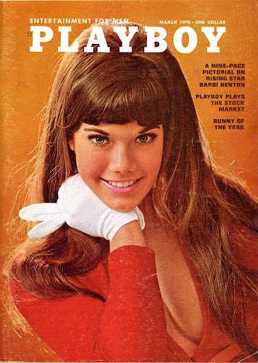 Playboy mars 1970 Berbi benton Jewpop