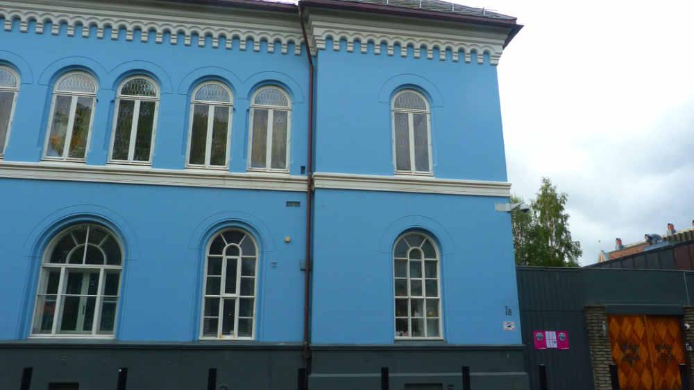 Synagogue Trondheim Norvège JewPop