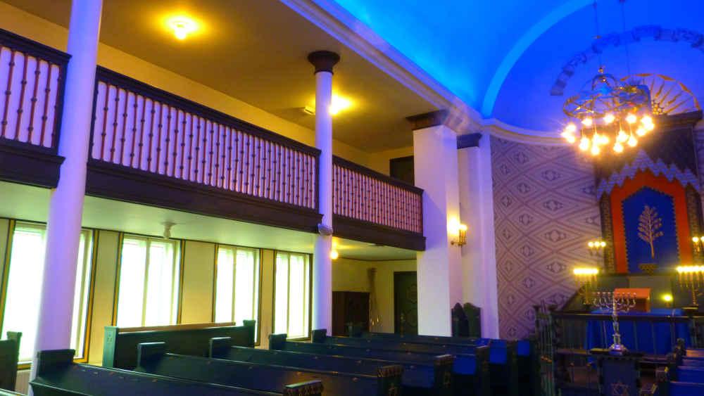 Synagogue intérieur Trondheim JewPop