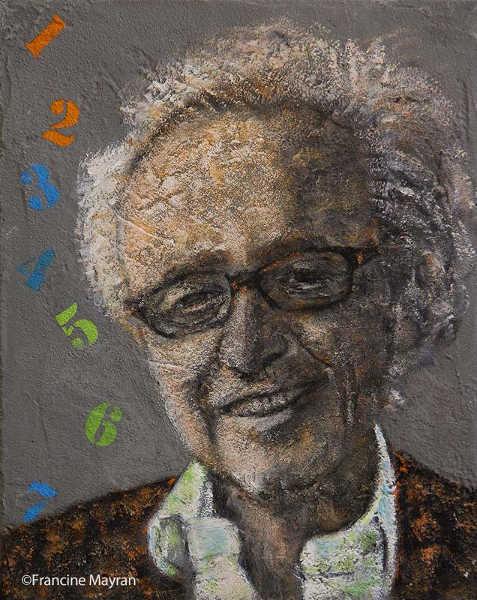 Portrait de Claude Hampel Jewpop