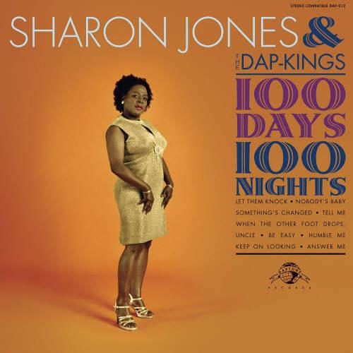 Pochette de l'album de Sharon Jones 100 Days Jewpop