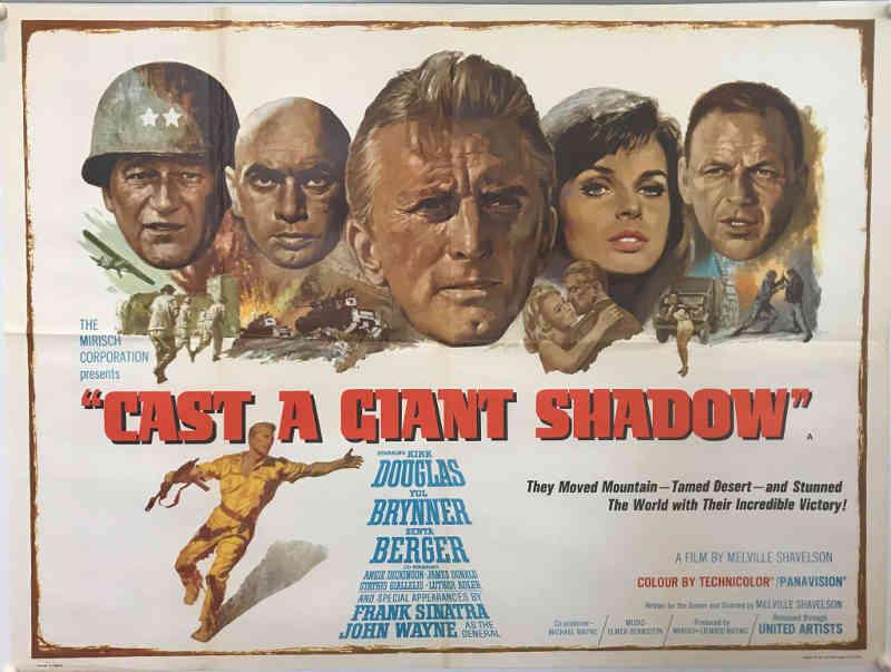 Affiche du film L'ombre d'un géant Jewpop