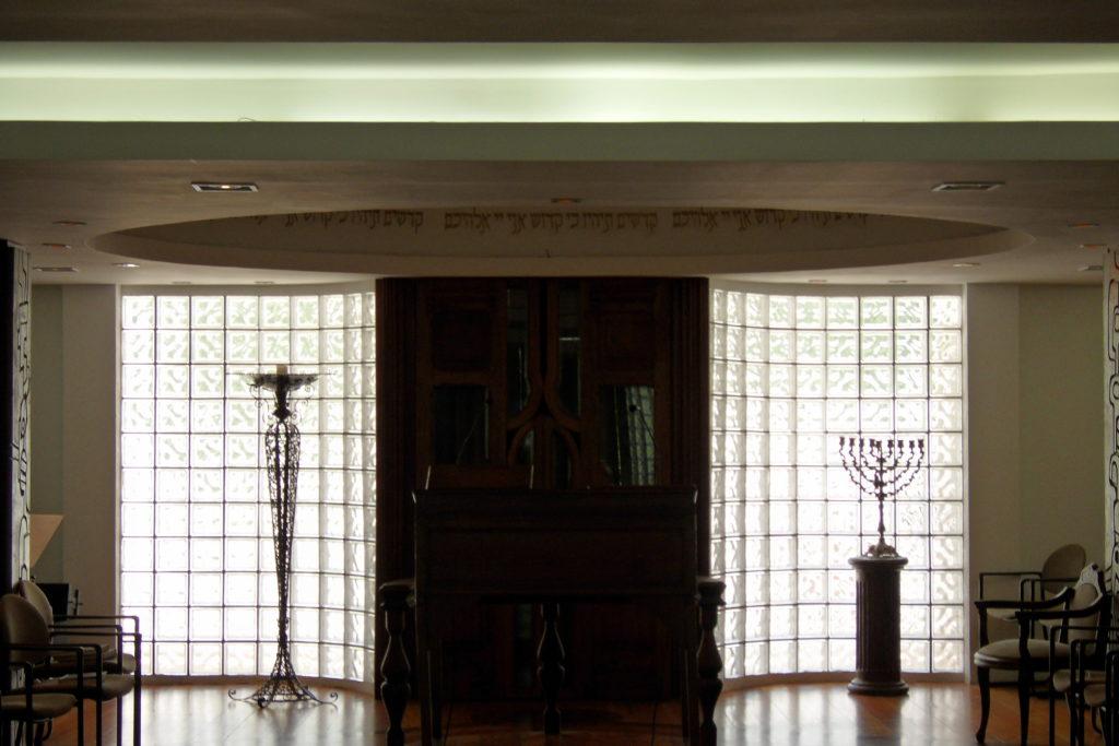 Intérieur synagogue Rio JewPop