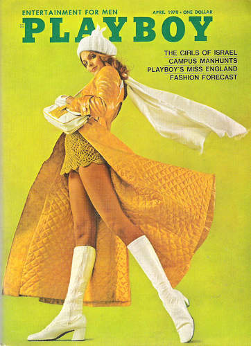 Couverture Playboy 1970 Israel Jewpop