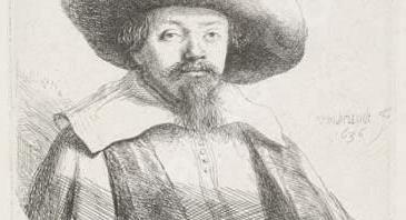 Portrait de Menasseh ben Israel par Rembrandt