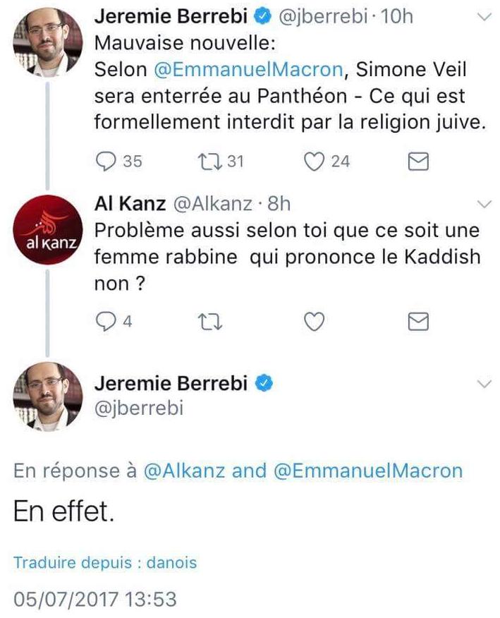 Jeremie Berrebi JewPop