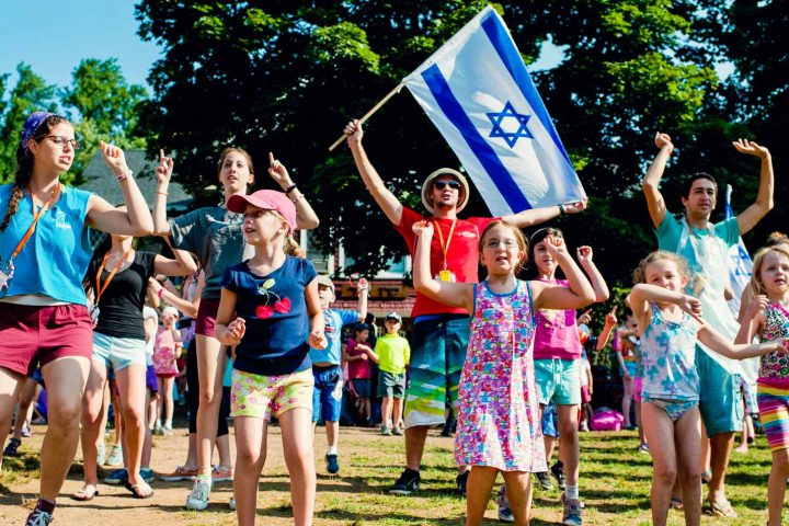 Photo représentant une colo juive Jewpop