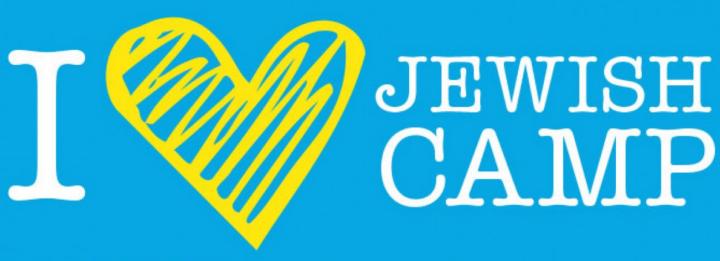 Logo I love Jewish camp colonie de vacances juives Jewpop