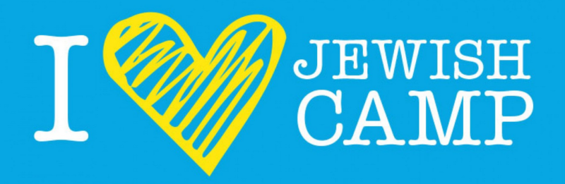 Logo I love Jewish camp colonie de vacances juives Jewpop
