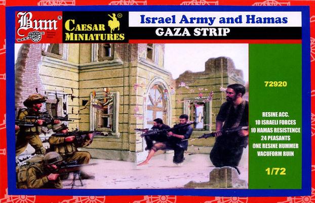 Israel Hamas figurines JewPop