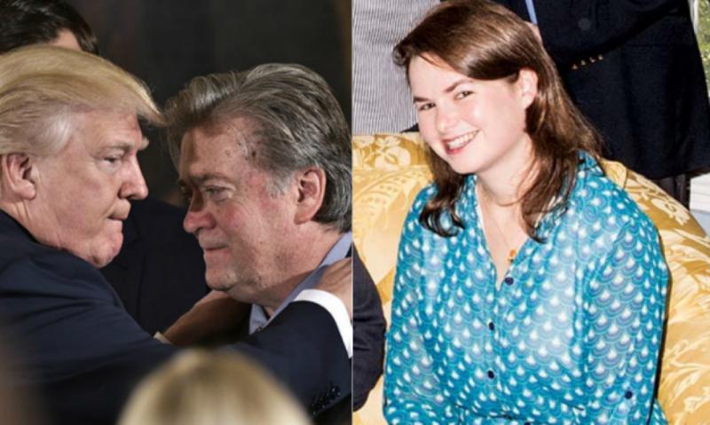 Julia Hahn Trump Bannon JewPop