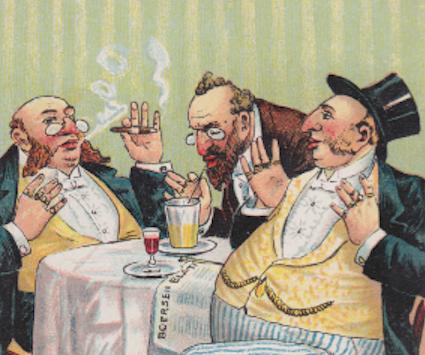 Caticature antisémite JewPop