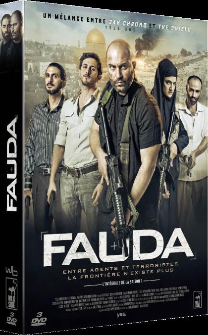 Coffret dvd Fauda saison 1 JewPop