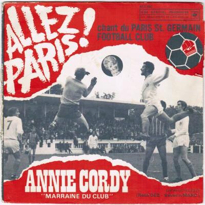 45T PSG Annie Cordy football JewPop