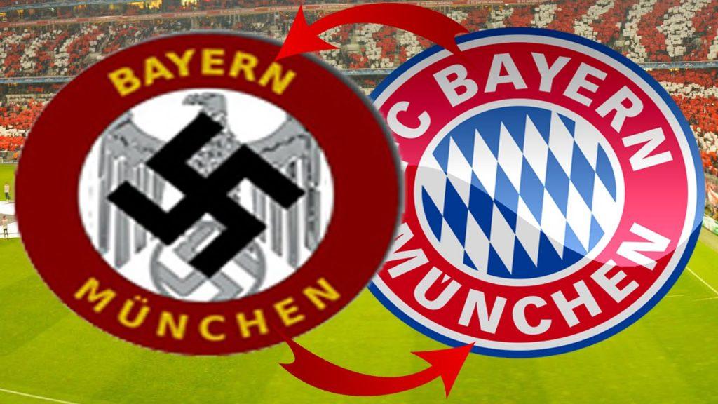 Bayern Munich logo nazi football