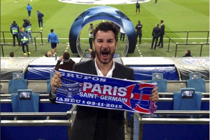 Michael Youn Football PSG