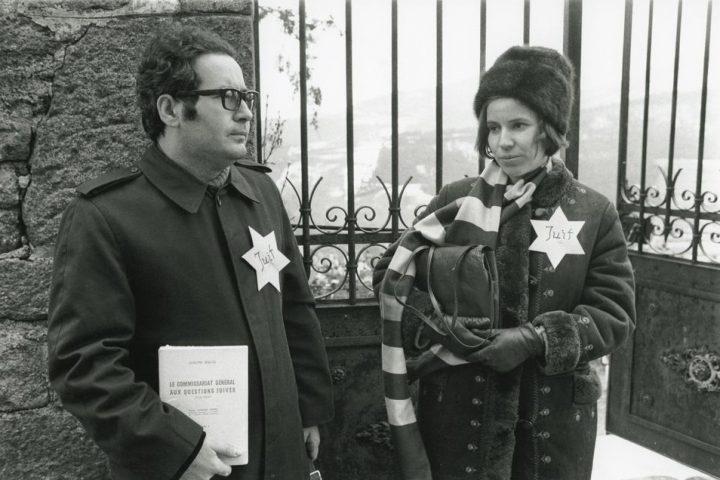 Serge Klarsfeld camps Pologne Jewpop