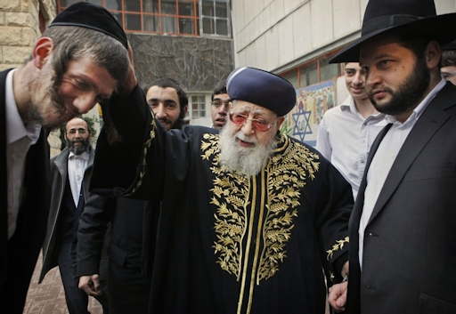 Rabbin Ovadia Yossef JewPop