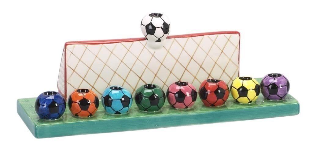 Menorah football JewPop