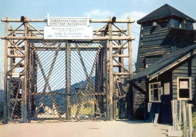Camp d'extermination Struthof Alsace JewPop