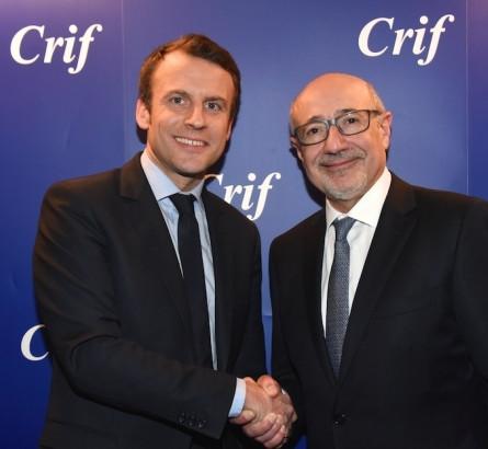 Macron Kalifat diner Crif JewPop