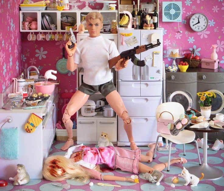 Barbie trash Jewpop