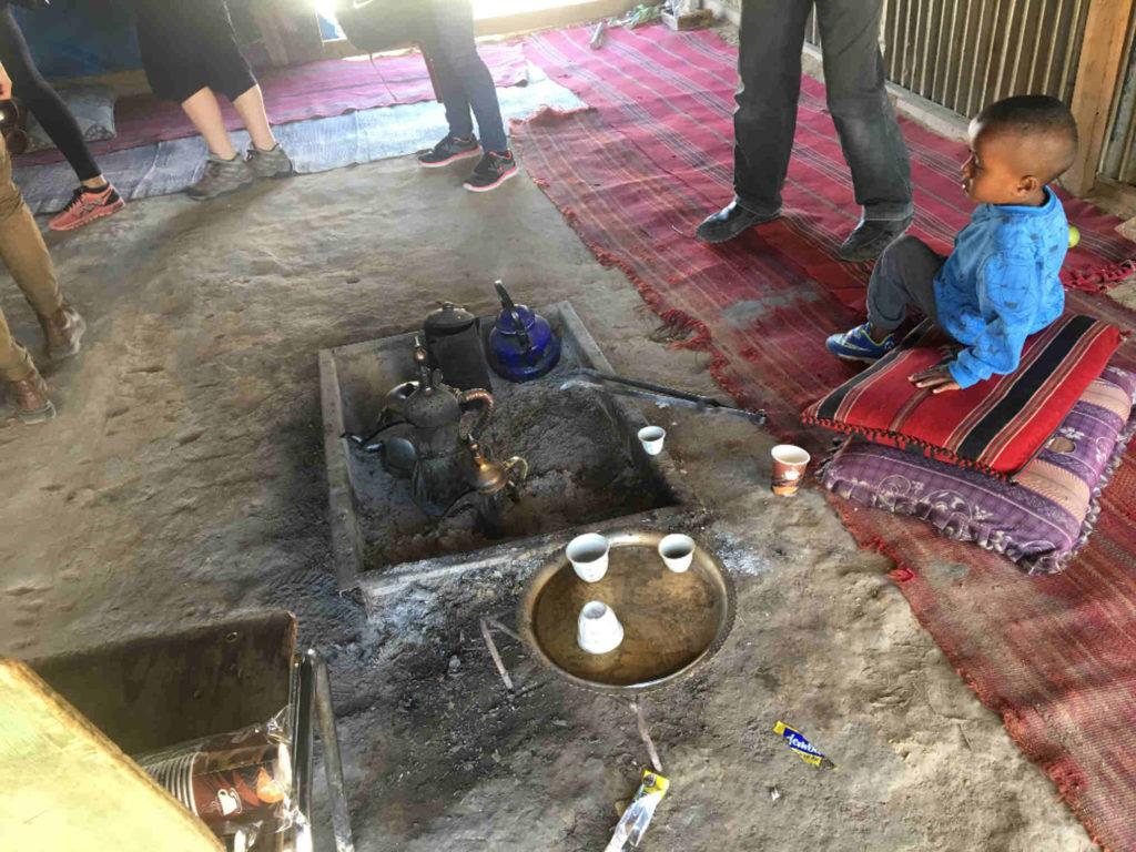 Wadi Nam cafe Bédouins Jewpop