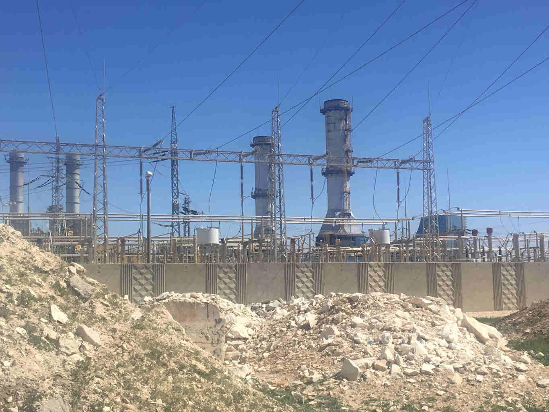 Centrale electrique Wadi Nam Bédouins Jewpop
