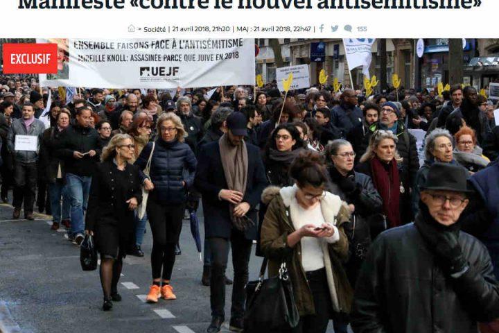 Le Parisien Manifeste nouvel antisémitisme Jewpop