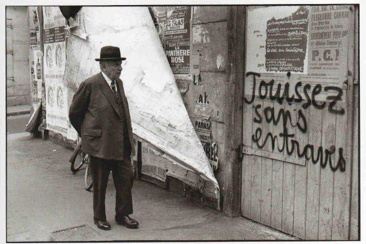 Henri Cartier Bresson mai 68