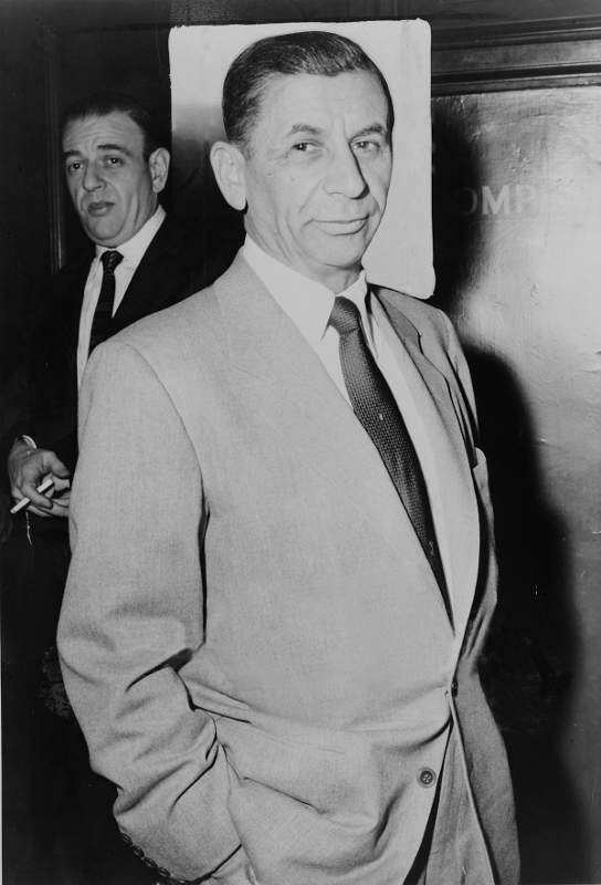 Photo représentant le gangster Meyer Lansky