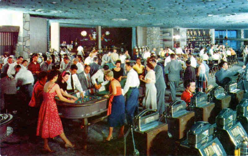 Photo représentant des jouers au casino Flamingo de Las Vegas
