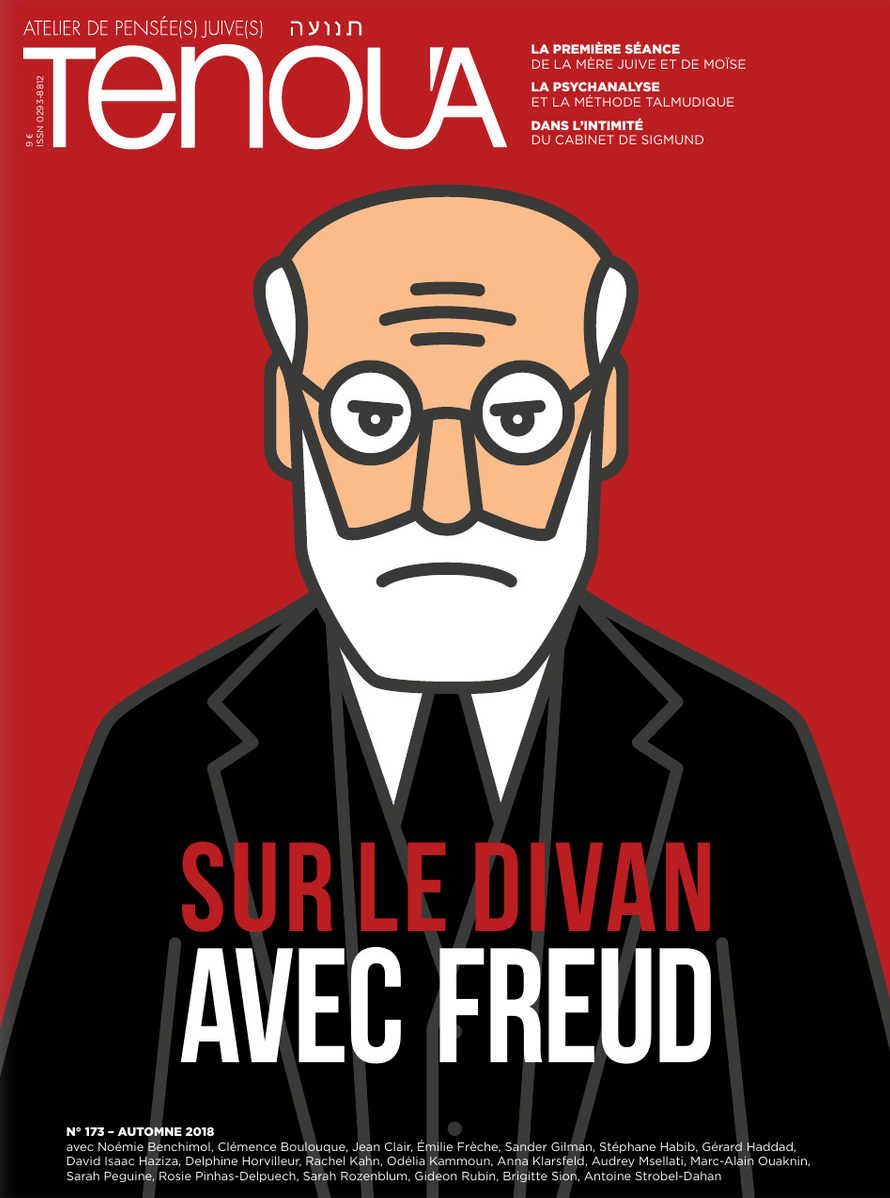 Couverture magazine Tenoua Freud