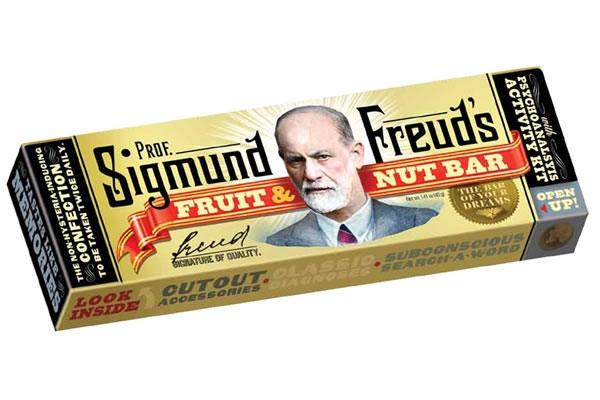Barre chocolatée Freud