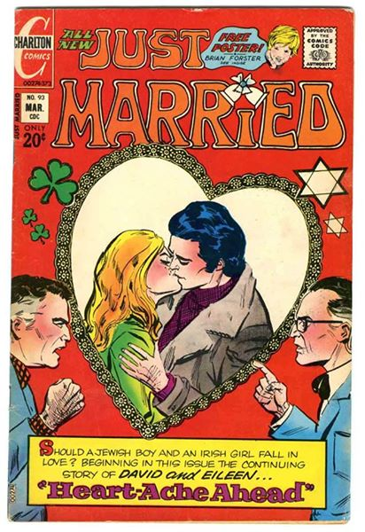 Just Married pulp cover