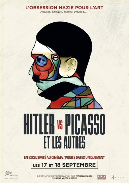 Hitler Picasso affiche documentaire Jewpop
