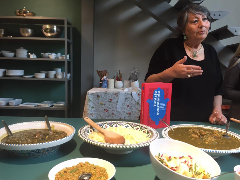 Jacqueline Bismuth, cuisine juive tunisienne