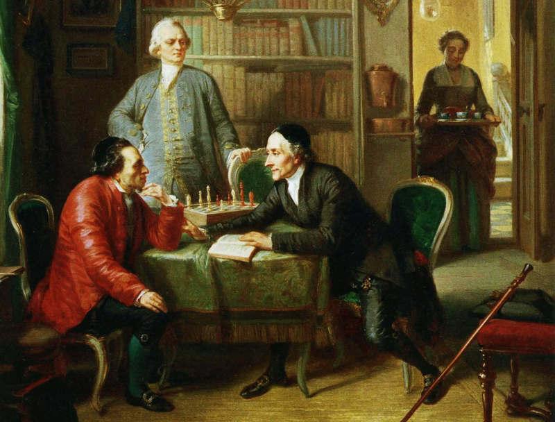 Moses Mendelssohn Lessing Lavater Jewpop
