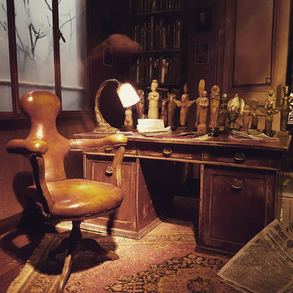 Cabinet Freud expo MAHJ Jewpop