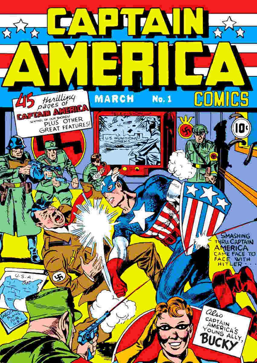 Captain America Jewpop