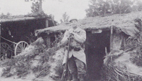 Photo du rabbin Jacob Kaplan soldat à Verdun Jewpop