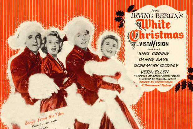 White Christmas chansons de Noël Jewpop
