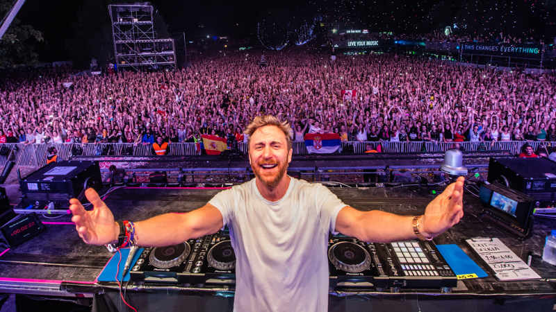 David Guetta en concert Jewpop