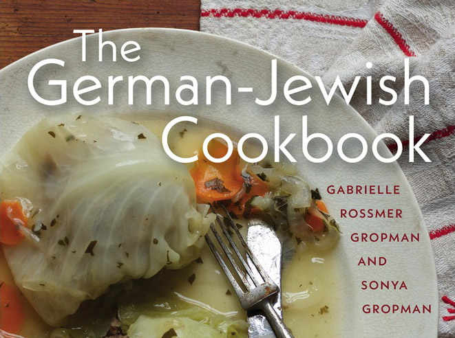Photo représentant la couverture du livre The German Jewish Cookbook Jewpop