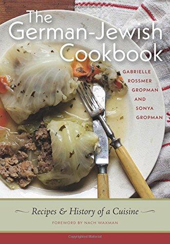 Photo représentant la couverture du livre de recettes The German Jewish Cookbook Jewpop