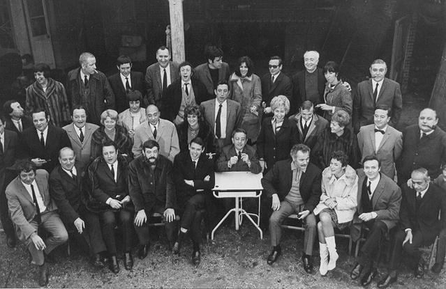 Photo du 20ème anniversaire des Trois Baudets Jacques Canetti Jewpop